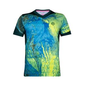 Pánské tričko BIDI BADU Niam Tech Neon Green
