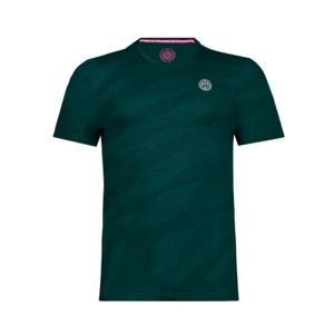 Pánské tričko BIDI BADU Ikem Tech Tee Dark Green