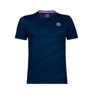 Pánské tričko BIDI BADU Ikem Tech Tee Dark Blue