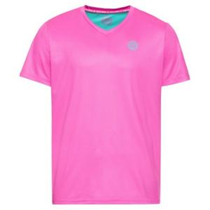 Pánské tričko BIDI BADU Ted Tech Tee Pink Mint