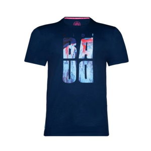 Chlapecké tričko BIDI BADU Akono Lifestyle Tee Dark Blue