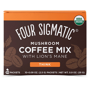 Lion's Mane Mushroom Coffee Mix 10ks