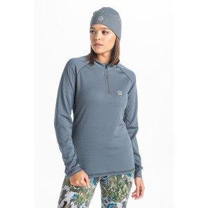 Nessi Běžecké Tričko s dlouhým rukávem KBL-99 Grey Velikost: XS