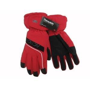 Action GS410-3 Pánské lyžařské rukavice červené - XL