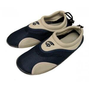 Alba Dámské neoprenové boty do vody šedomodré - EU 35