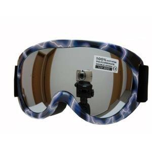 Spheric Ontario modré dětské lyžařské brýle - Sklo: oranžové