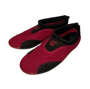 Alba Dámské neoprenové boty do vody červeno-černé - EU 36