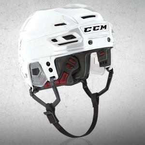 CCM Resistance hokejová helma bílá - M