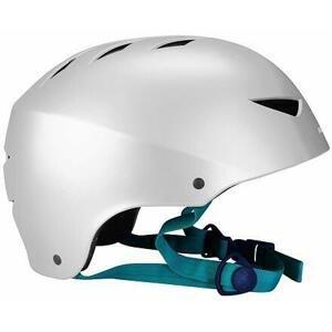 Nijdam Aggressive helma in-line stříbrná - S