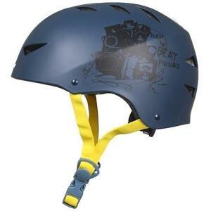 Nijdam Deluxe helma in-line modrá-žlutá - S