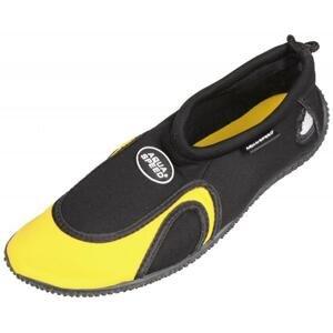Aqua Speed Jadran 18 neoprénové boty - 35 - černá-žlutá