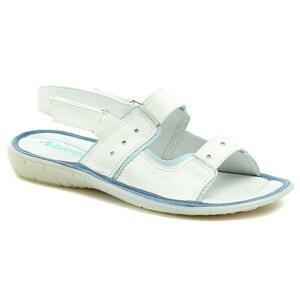 Arka Bioeco AK037 bílé dámské sandály - EU 40