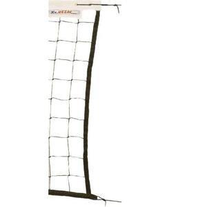 Kv řezáč Síť volejbalová se šňůrou černá - černá