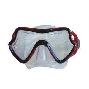 BROTHER Brýle potápěčské silikonové univerzální červené