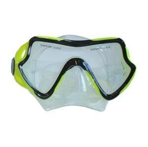 BROTHER Brýle potápěčské silikonové univerzální zelené