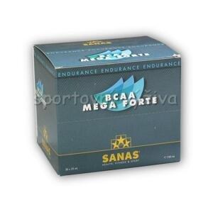 Sanas BCAA mega forte 30 ampulí á 22ml