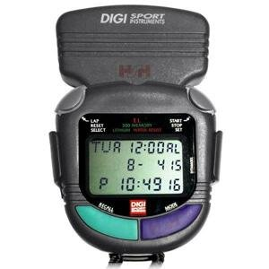 Digi Sport Instrument DTM 60 300Lap Stopky s posvětlením a klipsou na pásek