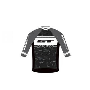 Gt Freeride Grey/white cyklistický dres - S