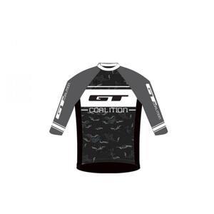 Gt Freeride Grey/white cyklistický dres - XL