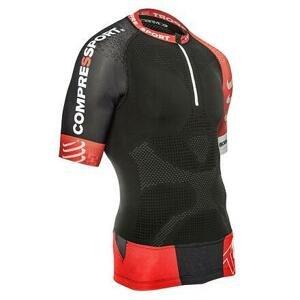 Compressport Trail Running Shirt V2 černé - M