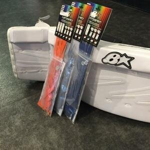 Brians Net Zero Colour Kit - stříbrná, Senior, Klasický gard