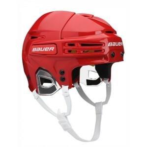 Hokejová helma Bauer Re-Akt 75 SR - červená, Senior, M, 54-59cm