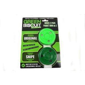 Green Biscuit Bonus 2-Pack Puk - zelená