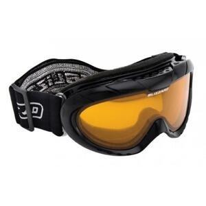 BLIZZARD 902DAO JR černé lyžařské brýle - Stříbrná