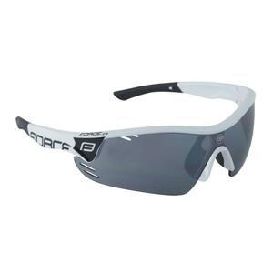Force RACE PRO bílo-černé cyklistické brýle