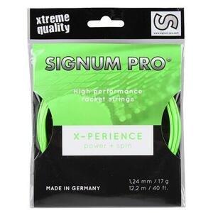 Signum Pro X-perience tenisový výplet 12,2 m zelená - 1,30