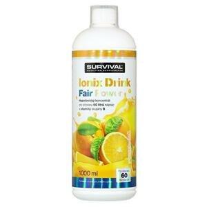 Survival Ionix Drink 1000 ml - růžový grep