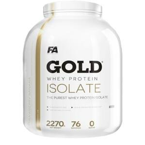 Fitness Authority Gold Whey Protein Isolate 2270g - jahoda