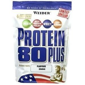 Weider Protein 80 Plus 500 g - brownie - dvojitá čokoláda