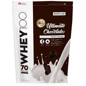 Bodylab Whey Protein 100 1000 g - jahodový milkshake