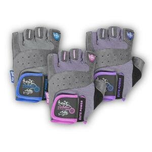 Power System rukavice CUTE POWER - Pink M