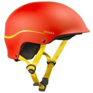 Palm Shuck half-cut vodáclá helma - S-červená