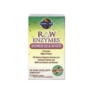Garden of Life RAW Enzymy Women 50 Wiser pro ženy 90 kapslí