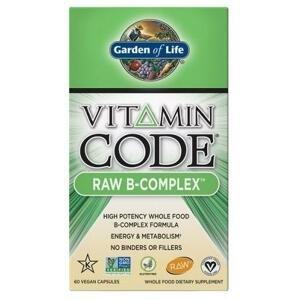 Garden of Life Vitamin B Komplex - RAW 60 kapslí