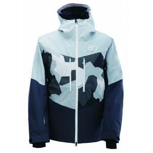 2117 LUDVIKA sv.modrá pánská lyžařská bunda (20000 mm, Recco) + sleva 1000,- na příslušenství - S