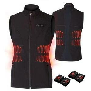 Lenz Heat Vest 1.0 Set dámská vyhřívaná vesta černá - XS