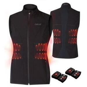 Lenz Heat Vest 1.0 Set dámská vyhřívaná vesta černá - L