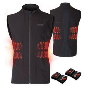 Lenz Heat Vest 1.0 Set vyhřívaná vesta černá - XL