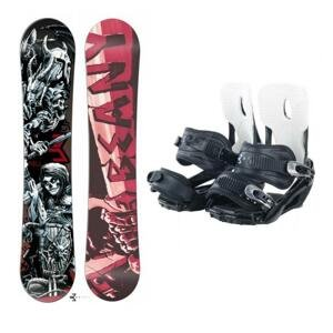 Beany Hell snowboard + Beany Lucky snowboardové vázání - 140 cm + S (EU 37-40)