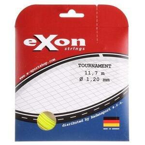 Exon Tournament tenisový výplet 11,7 m žlutá neon - 1,20