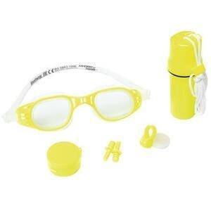 Bestway Plavecký set 26002 dětské plavecké brýle žlutá