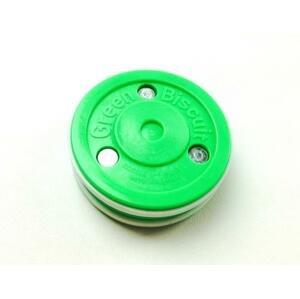 Green Biscuit Puk PRO hokejový puk tréninkový - Zelená