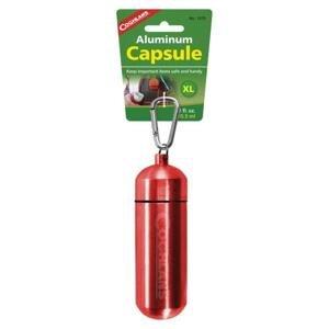 Coghlans pouzdro Aluminium Capsule XL Red