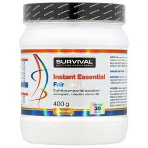 Survival Instant Essential Fair Power 400 g - pomeranč