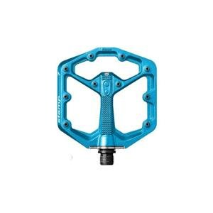 Crankbrothers Stamp 7 pedály - Small Electric Blue - Orange