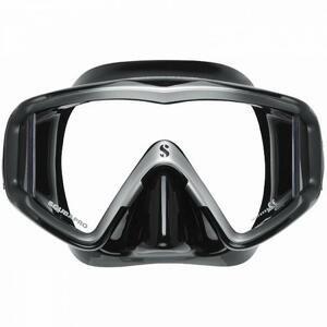 Scubapro Maska CRYSTAL VU - transp./červená (dostupnost 7-9 dní)